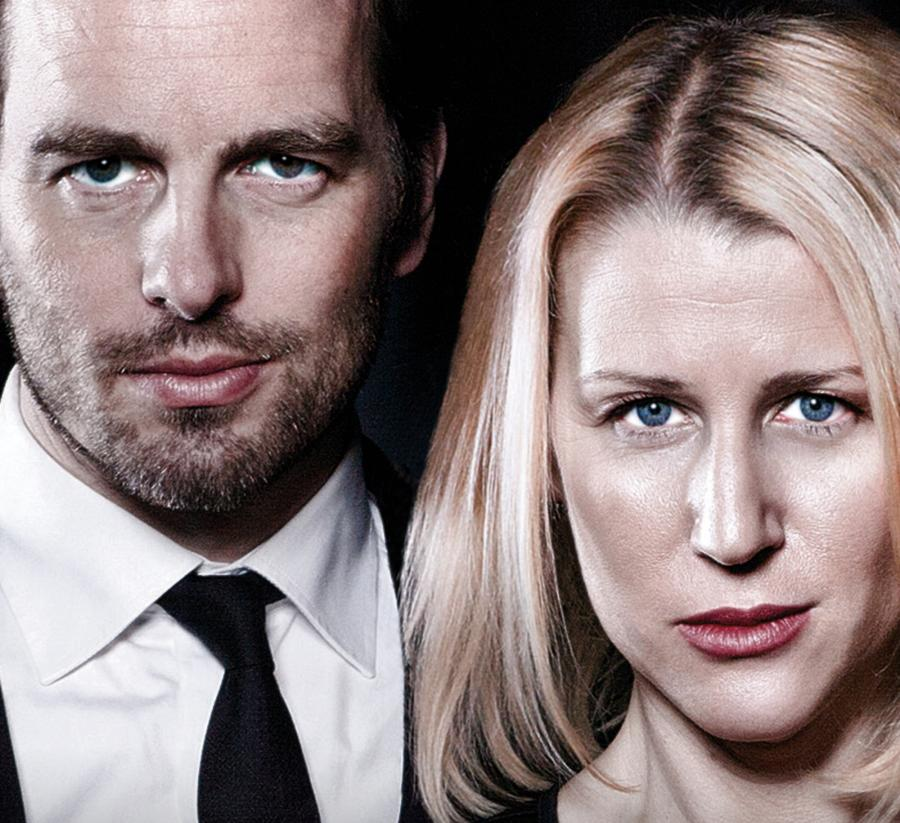 Christopher Wollter & Åsa Fång